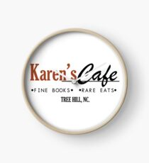 Karen's Cafe - One Tree Hill Clock