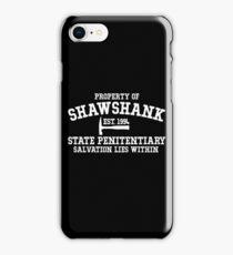 Shawshank State Penitentiary - Shawshank Redemption  iPhone Case/Skin