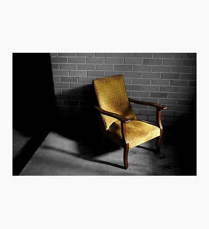 Chair by Night, Bed by Day Photographic Print