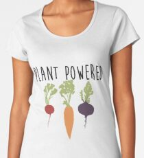 Plant Powered - Vegan Women's Premium T-Shirt
