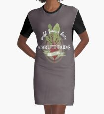 Schrute Farms - The office Graphic T-Shirt Dress