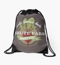 Schrute Farms - The office Drawstring Bag