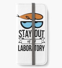 Stay Out of My Laboratory - Dexter iPhone Wallet/Case/Skin