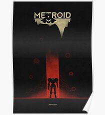 a metroid game Poster