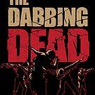 «Dabbing Dead Zombie T-shirt Creme» de vomaria