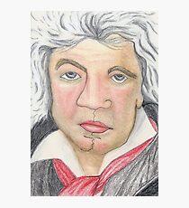 Ludwig van Beethoven Photographic Print