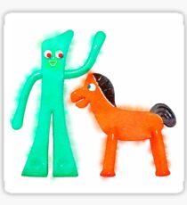 Gumby & Pokey Watercolor Inspiration Sticker