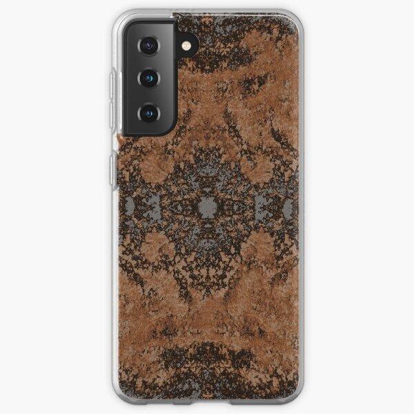 Inkblot - Mars concrete Samsung Galaxy Soft Case