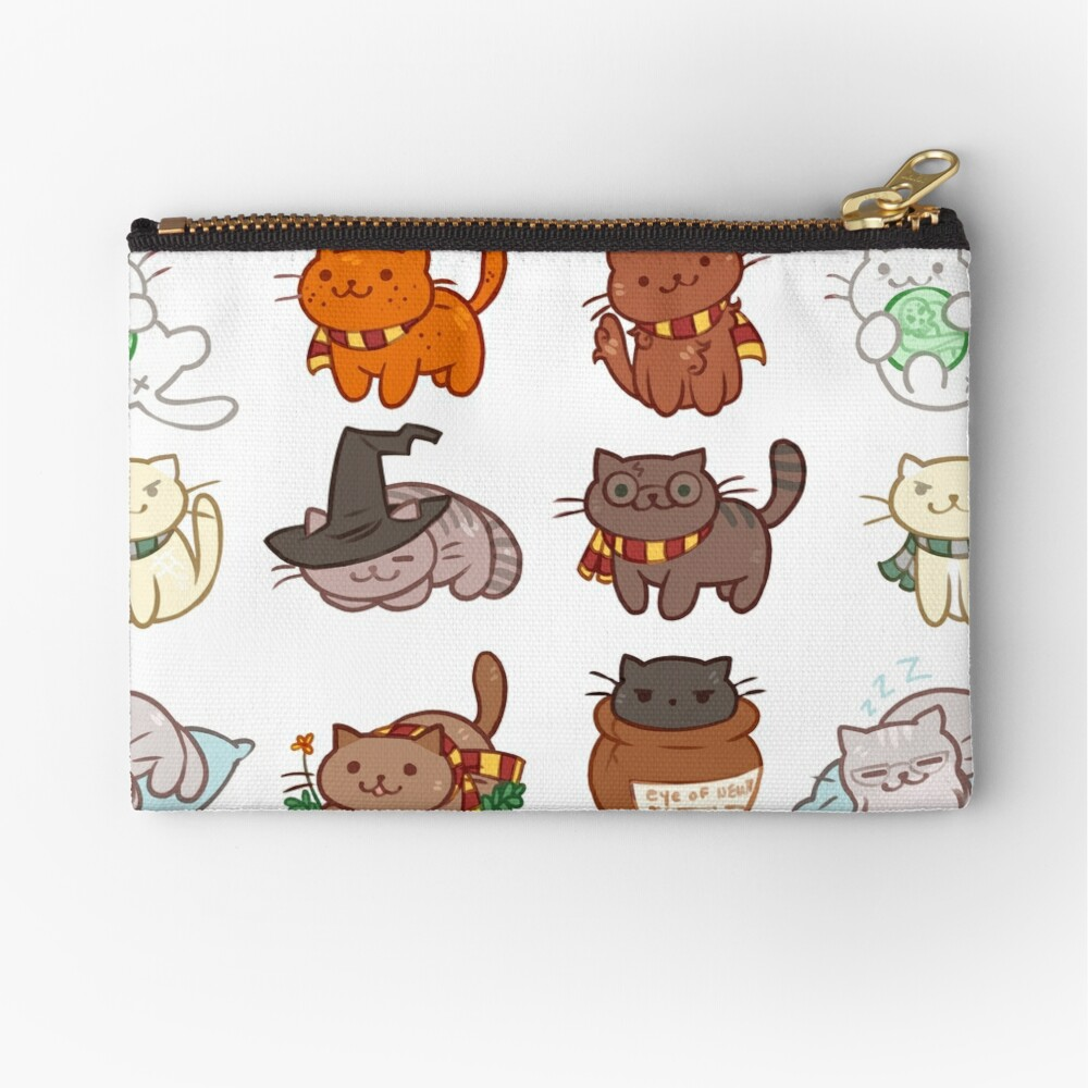 Hairy Pawtter Zipper Pouch