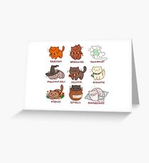 Hairy Pawtter Greeting Card