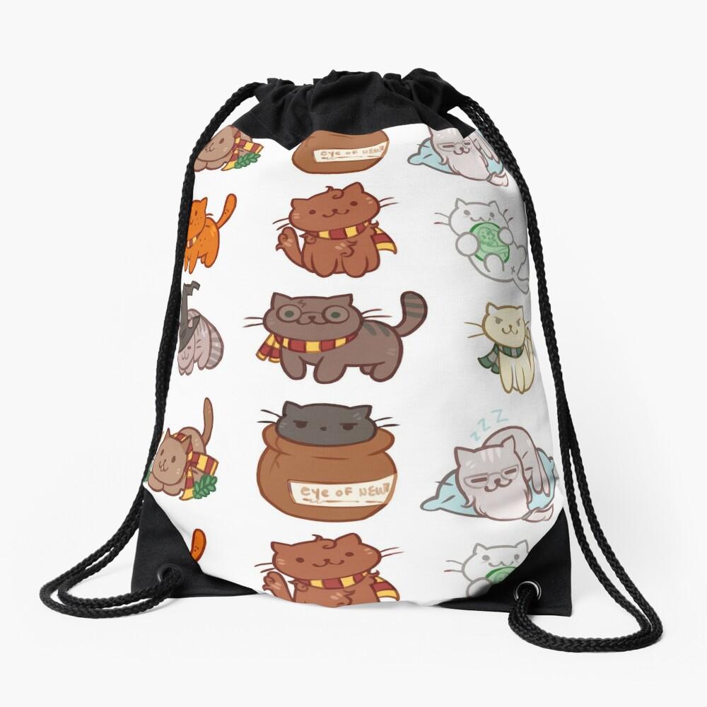 Hairy Pawtter Drawstring Bag