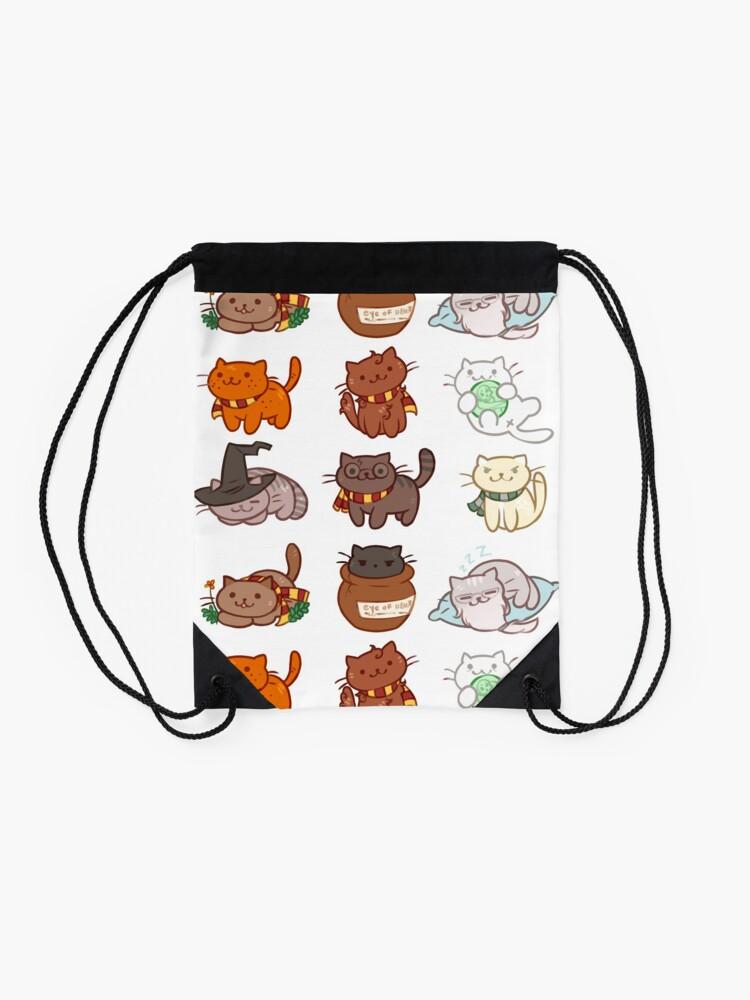 Alternate view of Hairy Pawtter Drawstring Bag