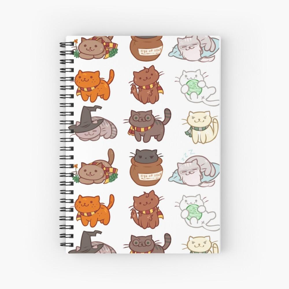 Hairy Pawtter Spiral Notebook