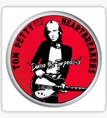 Damn the Torpedoes - Tom Petty Retro Sticker