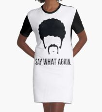 Say What Again - Pulp Fiction Graphic T-Shirt Dress