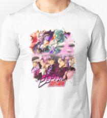 JoJo's Bizarre Adventure - Stardust Crusaders Japanese Logo Unisex T-Shirt