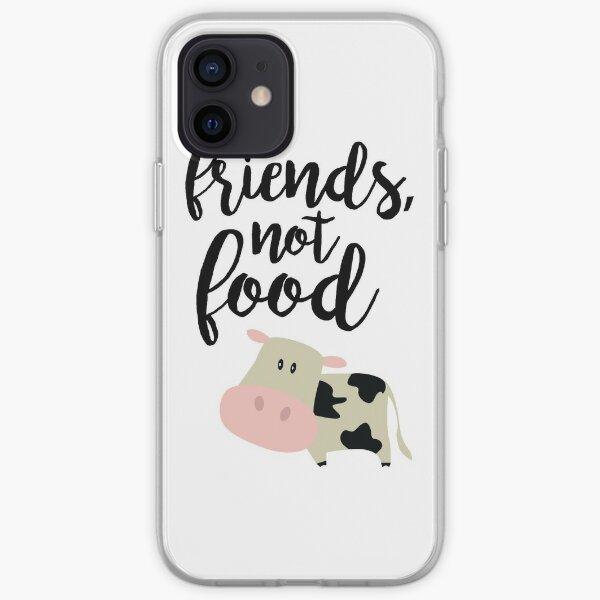 Friends Not Food - Vegan  iPhone Soft Case