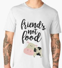 Friends Not Food - Vegan  Men's Premium T-Shirt
