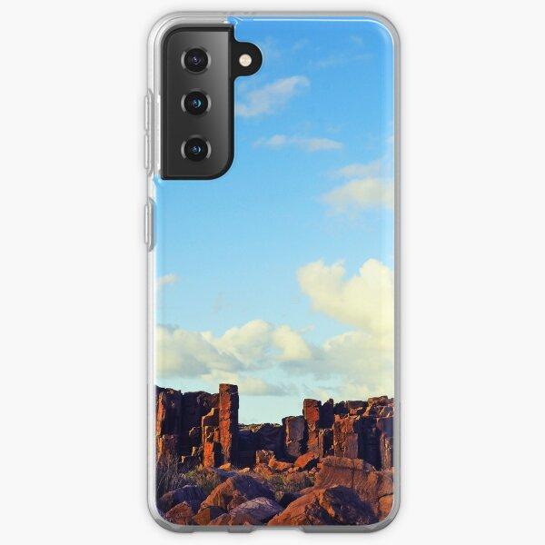 Sun-kissed Stone Pillars Samsung Galaxy Soft Case