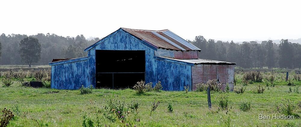 Farm Shed by Ben Hudson
