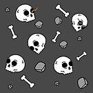 Bones Sinking Like Stones by cartoonbeing