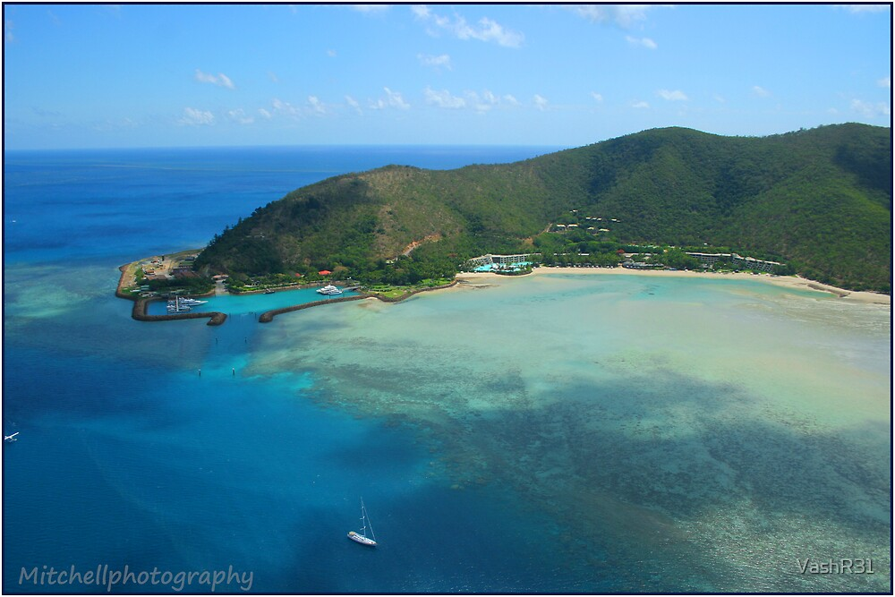 Hayman Island from Helicopter by VashR31