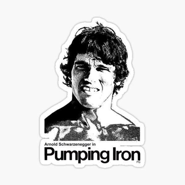 Pumping Iron Sticker