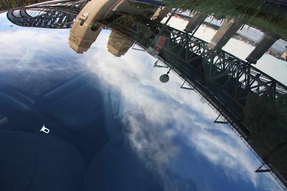 Bridge in the windscreen by Stephen Denham