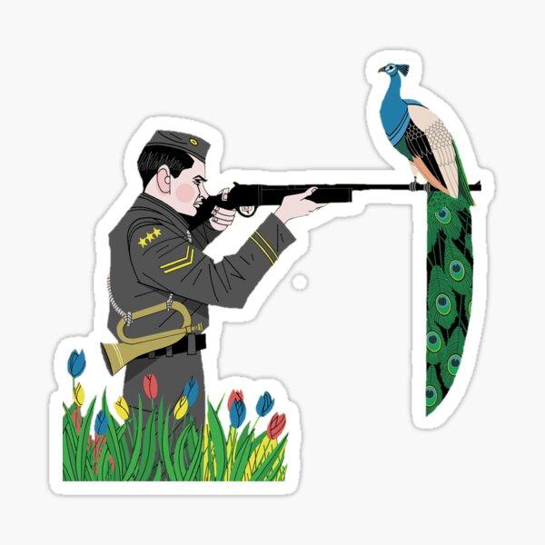 fun. Aim and Ignite soldier  Sticker