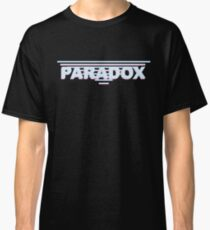 Blue + Pink Paradox Logo Classic T-Shirt