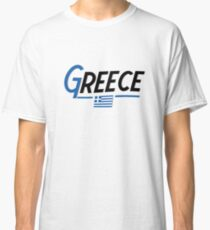 Greece Greek National Country Flag  Classic T-Shirt