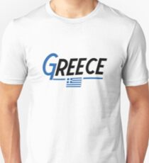 Greece Greek National Country Flag  T-Shirt