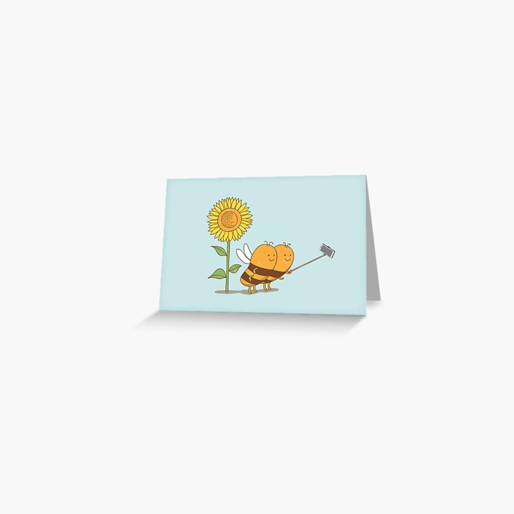 BFF wefie Greeting Card