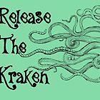 """Release The Kraken"" With Long Tentacles  by GypseaDesigns"