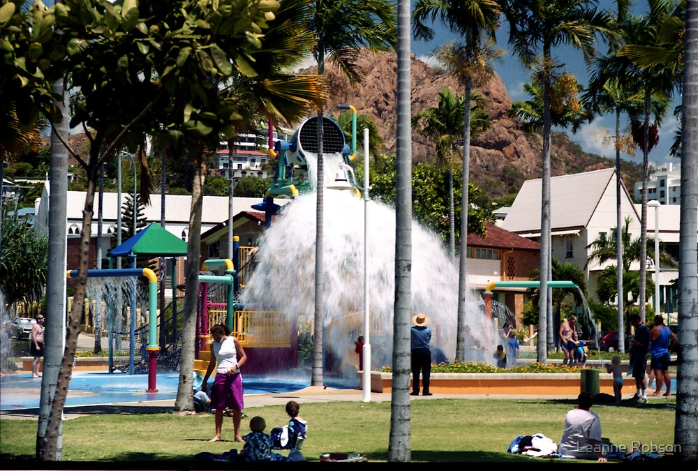 Townsville Water Park by Leanne Robson