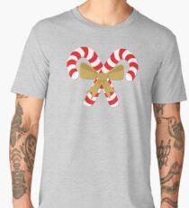 Candycane Bouquet Gold Men's Premium T-Shirt