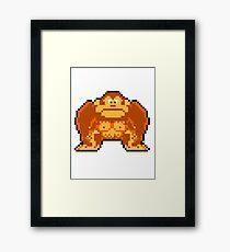 Donkey Kong! Framed Print