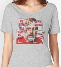 The Real of S.Zizek Women's Relaxed Fit T-Shirt