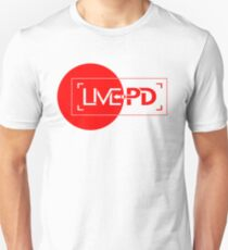 live police red Unisex T-Shirt