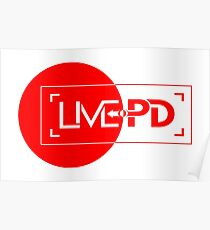 live police red Poster
