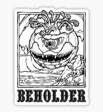 AD&D: Beholder Sticker