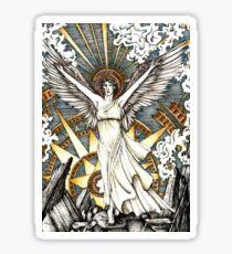 Goddess of dawn Sticker