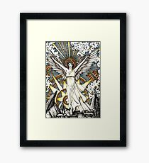 Goddess of dawn Framed Print