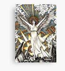 Goddess of dawn Canvas Print