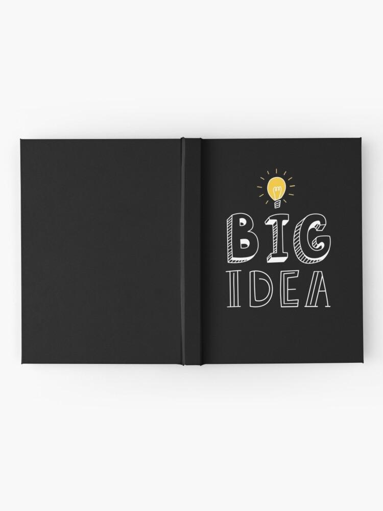 Alternate view of BIG IDEA Hardcover Journal