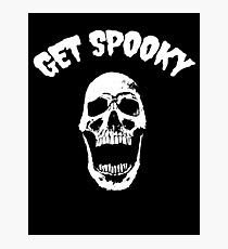 Get Spooky Photographic Print
