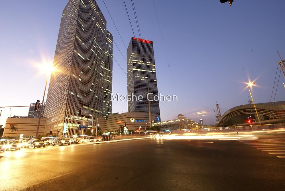 Tel Aviv a nonstop city by Moshe Cohen
