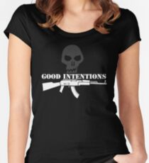Good Intentions Women's Fitted Scoop T-Shirt