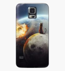 Cat Victory Case/Skin for Samsung Galaxy