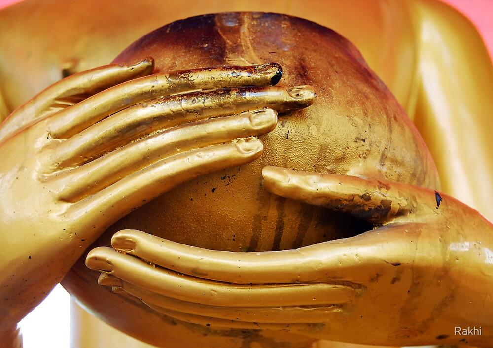 Buddha Hands by Rakhi